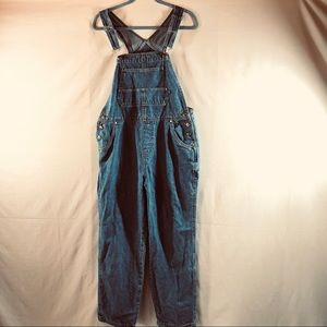 Vintage Cherokee Denim Overalls Medium